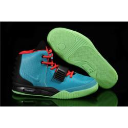 Nike Yeezy 2 синий с черным